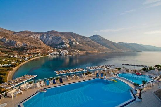Aegialis Hotel & Spa: Pool View