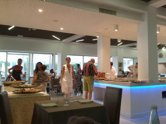Sala da pranzo - Bild von Hotel Nettuno, Jesolo - TripAdvisor