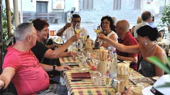La Casa di Bacco : Unser Tisch