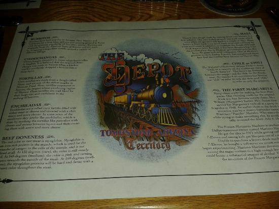 Locandina sul tavolo picture of johnny ringos bar and the depot steakhouse tombstone - Video sesso sul tavolo ...