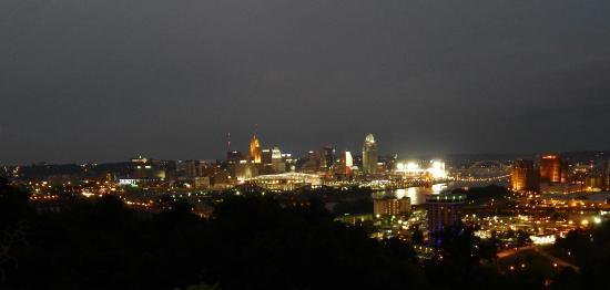 Devou Park: Cincinnati at NIght