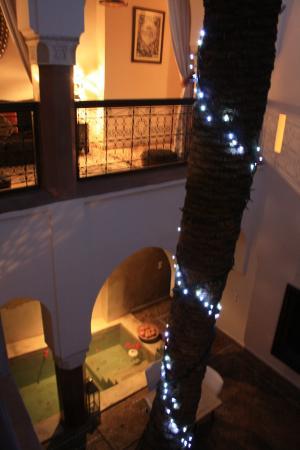 Zamzam Riad: il patio del riad