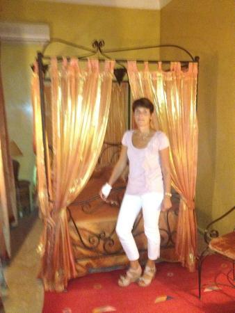 Riad Dama : het hotelbed