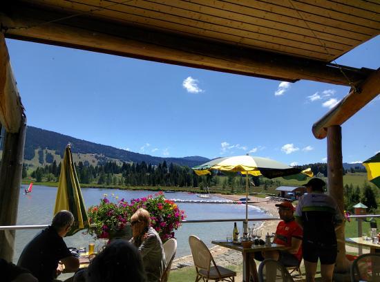 restaurant le chalet du lac photo de le chalet du lac les rousses tripadvisor