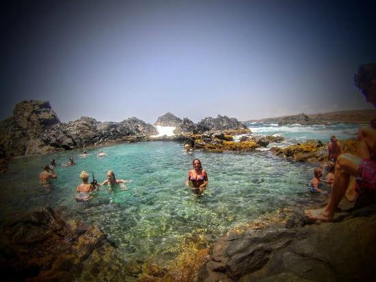 Noord, Aruba: natural pool
