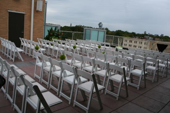 Moonrise Hotel Rooftop Terrace Wedding Venue