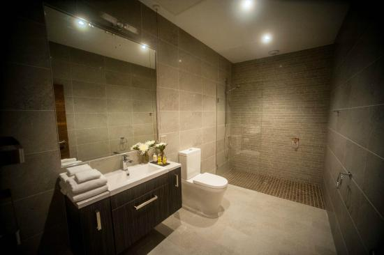 Wet room in selected two bedroom apartments picture of for What s a wet room