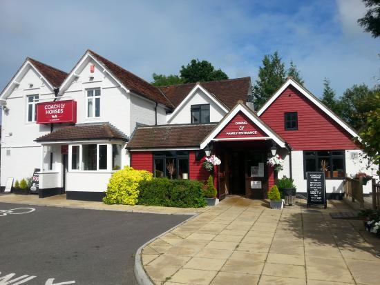 Coach and Horses: from outside
