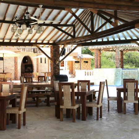 Viña Sicilia: Zona del comedor