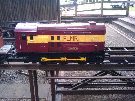 Frimley Green, UK: Frimley Lodge Miniature Railway