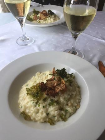 Jerusalem artichoke risotto  - divine!