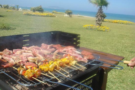 Fnidek, Marocco: barbecue