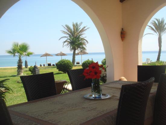 Fnidek, Marruecos: terrasse villa