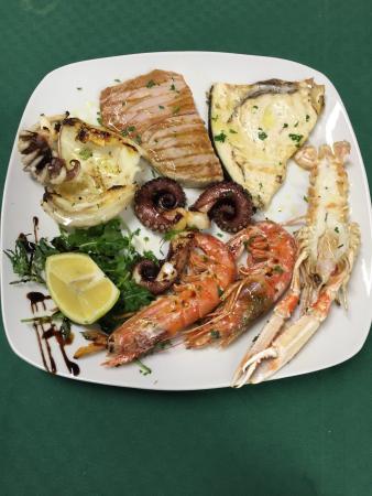 Primi e secondi piatti di pesce foto di l 39 angolo verde for Secondi piatti di pesce