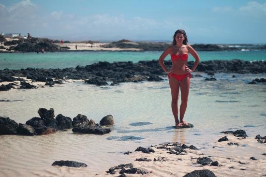 El Cotillo, Spain: ragazza elcotillo