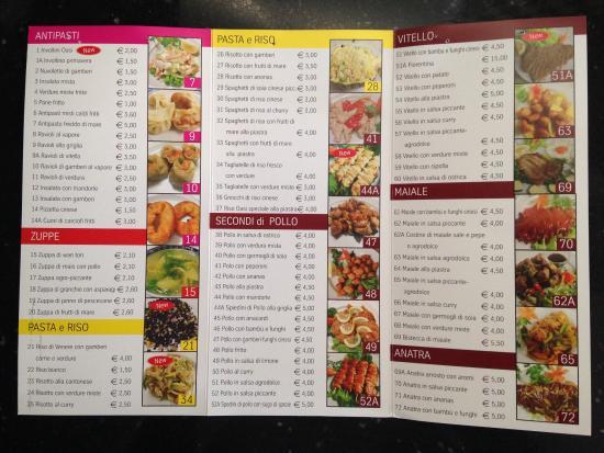 Men foto di ristorante cinese oasi reggio emilia for Cibo cinese menu