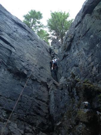 Rock Climb Montana: Climb Montana with Link