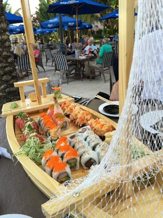 Blu Mangrove: Sushi Boat