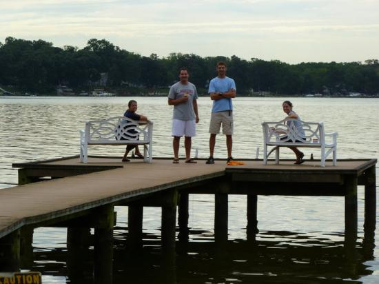 Abingdon, MD: One of our 3 fishing piers