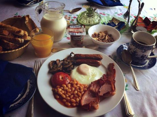 Parkview Bed & Breakfast: full irish breakfast