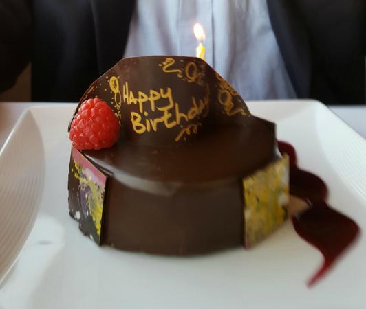 Complimentary Happy Birthday Cake