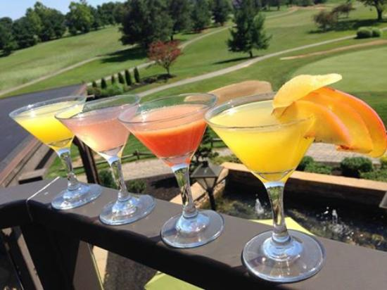 Oak.: Flights offered for martinis, crushes and beer!