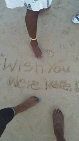 Hi Tide Restaurant at Bay Gardens Beach Resort : End of a wonderful day
