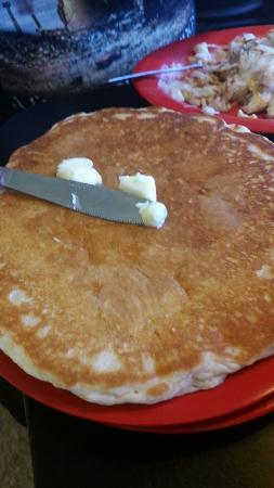 The Dive: Monster sized pancake