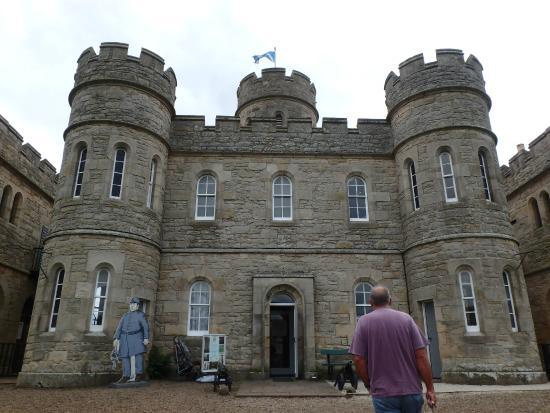 Jedburgh Castle & Jail Museum: entering the castle-jail