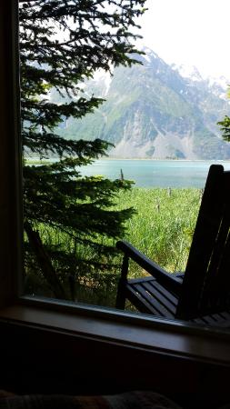 Kenai Fjords Glacier Lodge : View from cabin