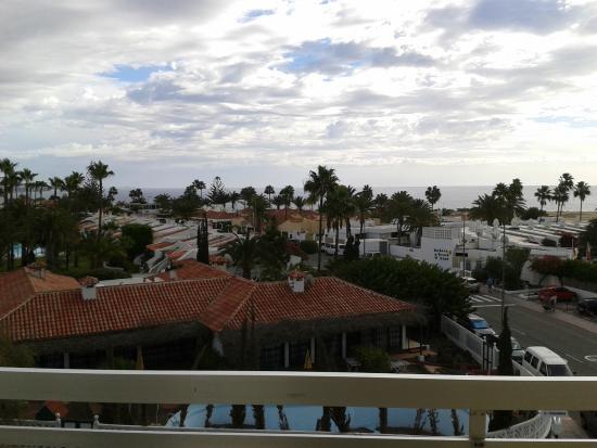 Los Aguacates : Вид с балкона.