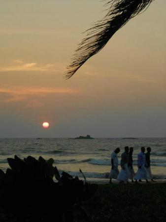 Bentota, Sri Lanka: fabulous sunsets