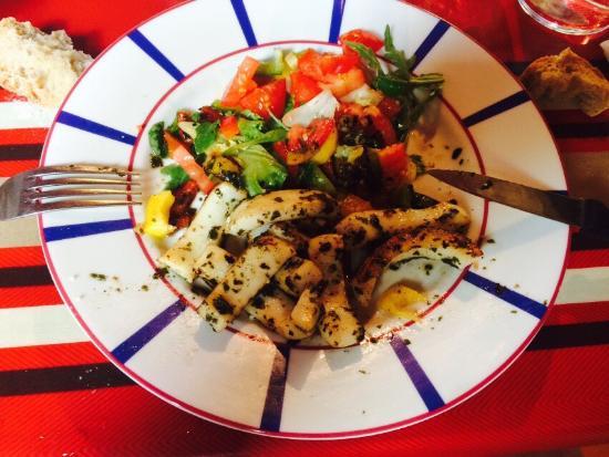 La Table des Basques: Voici ce que nous avons mangé! Parfait