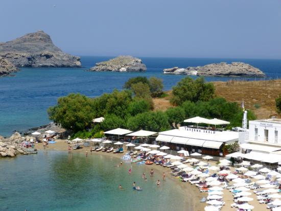 Skala Beach Restaurant Restaurant Lindos 1