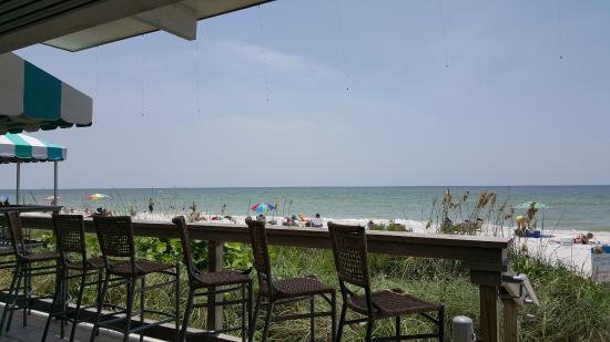 Naples Beach Hotel And Golf Club View From Sunset Bar