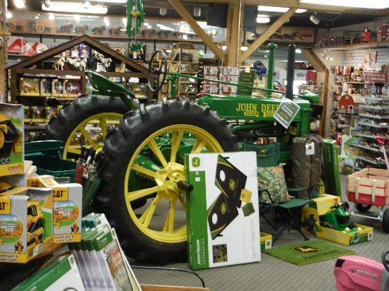 Shipshewana, IN: As you can see they have an extensive John Deere collection.