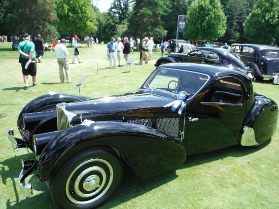 Inn at St. John's: Concours d'Elegance of America - 1937 Bugatti 57SC Atalante Coupe