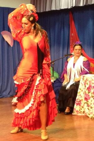 Centro de Equitación El Ranchito: Flamenco show wonderful !!! Bbq dinner no good, terrible !!!