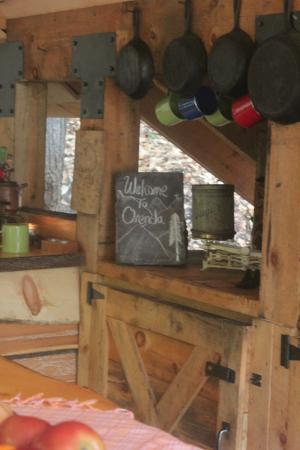 Johnsburg, NY: Outdoor kitchen