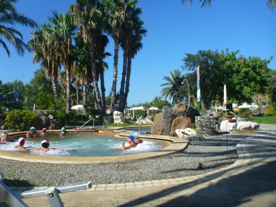 Oasi della Salute Volcanic Mineral Pools : The warmest pool