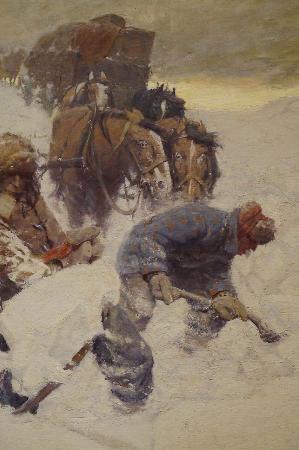 The Rockwell Museum: Montana Winter Scene 1914