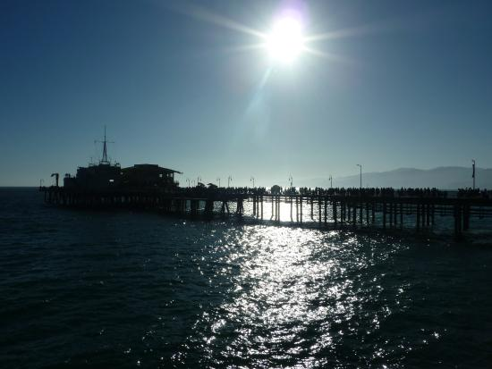 sunset and Pier