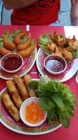 Restaurant Dragon de Jade: Quelques exemples de plaisirs gustatifs