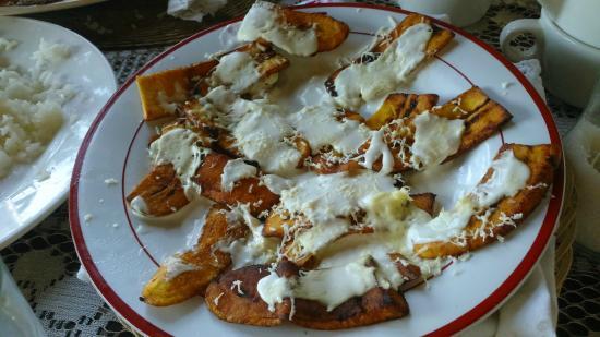 Posada Bugambilias: Platanitos fritos
