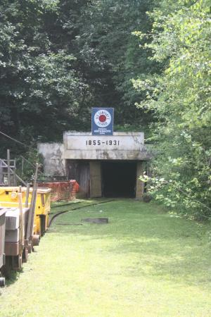 Lansford, Pensilvania: No. 9 Mine entrance