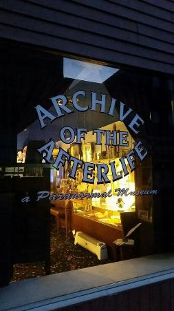 ‪Archive of the Afterlife: The National Museum of the Paranormal‬