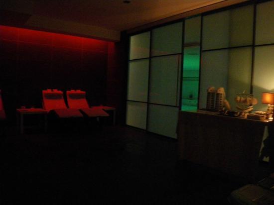 sala relax + tavolo tisane