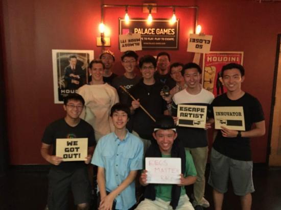 Team EECS Master Race, a group of CS majors from Berkeley