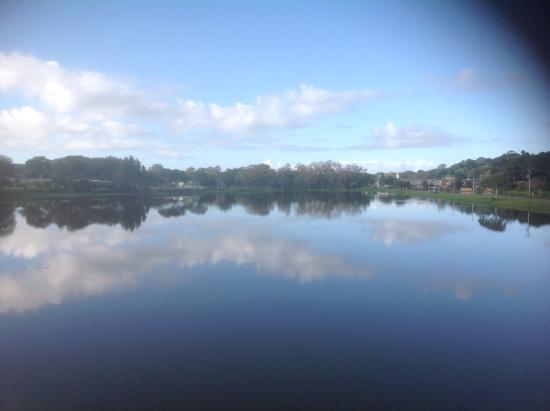 Itajuipe, BA: Vista do lago.