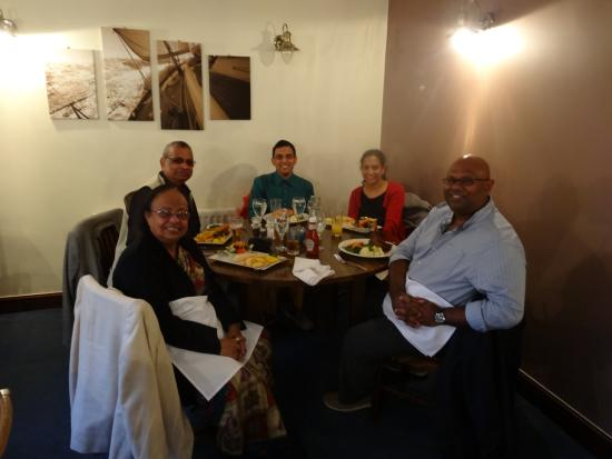 The Lobster Pot: Me and family dining in Lobster Pot